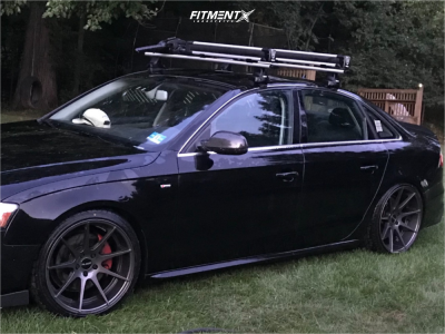 2015 Audi A4 Quattro - 19x9.5 40mm - Alzor 509 - Coilovers - 245/35R19