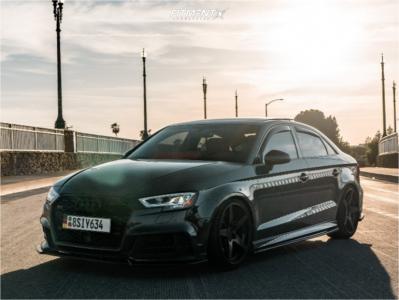 2019 Audi S3 - 19x9.5 45mm - Rotiform Wgr - Coilovers - 245/35R19