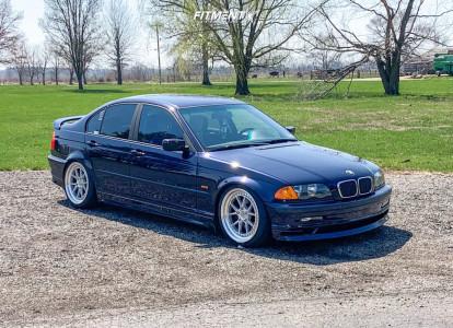 2001 BMW 325i - 18x8.5 35mm - Aodhan Ds08 - Air Suspension - 225/40R18