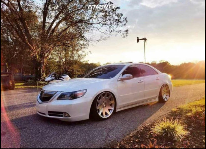 2009 Acura RL - 20x9.5 35mm - MRR Hr3 - Coilovers - 225/35R20