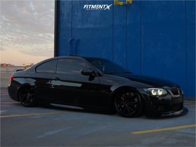 2011 BMW 335i - 19x8.5 33mm - Rohana Rfx5 - Air Suspension - 225/35R19
