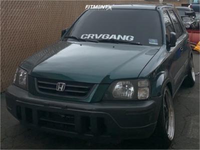 2001 Honda CR-V - 18x8.5 30mm - ESR Sr04 - Coilovers - 225/40R18
