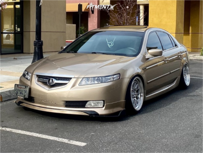 2005 Acura TL - 18x9.5 30mm - Aodhan Ds06 - Coilovers - 225/40R18