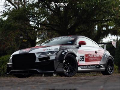 2010 Audi TT Quattro - 18x8 43mm - HRE FlowForm Ff01 - Coilovers - 255/35R18