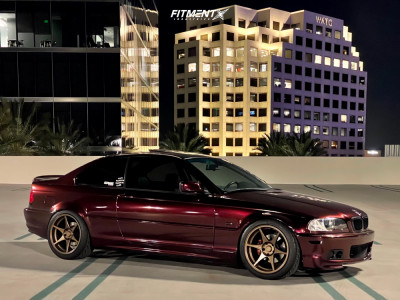 2000 BMW 3 Series - 18x9.5 22mm - Stage Wheels Knight - Coilovers - 245/40R18