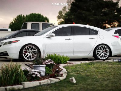 2013 Acura TL - 19x9.5 35mm - RSR R702 - Coilovers - 255/35R19