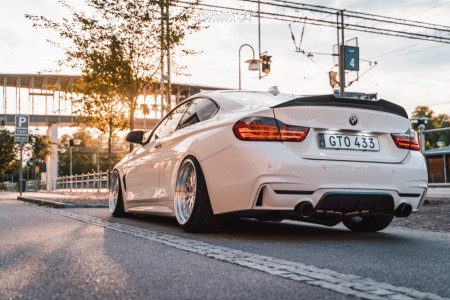 2015 BMW 428i - 19x9.5 20mm - Japan Racing Jr10 - Coilovers - 245/35R19