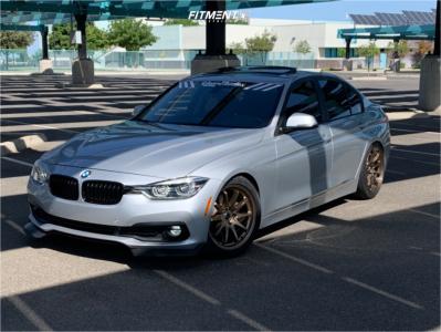 2017 BMW 320i - 18x8.5 35mm - JNC JNC006 - Coilovers - 255/40R18