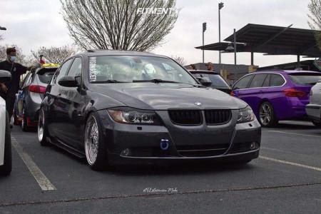 2006 BMW 3 Series - 18x8.5 30mm - JNC Jnc004s - Coilovers - 215/40R18