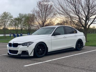 2014 BMW 328d - 18x8.5 35mm - Niche Staccato - Air Suspension - 225/45R18