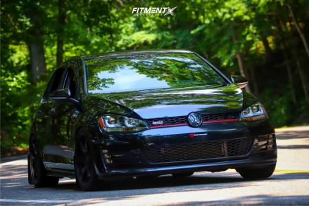 2017 Volkswagen GTI - 18x8 35mm - NS NS1507 - Lowering Springs - 225/40R18