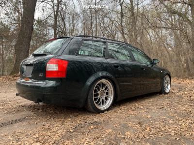 2005 Audi A4 Quattro - 18x8.5 45mm - F1R F21 - Coilovers - 225/40R18