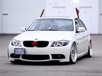 2009 BMW 3 Series - 19x9 33mm - ESR Sr05 - Coilovers - 225/35R19