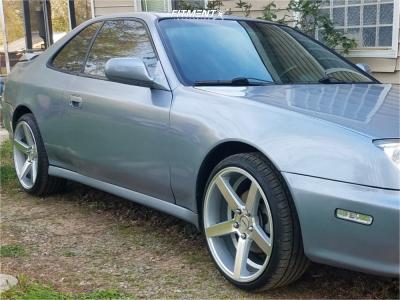 1999 Honda Prelude - 18x8 35mm - Strada Perfetto - Stock Suspension - 215/30R18