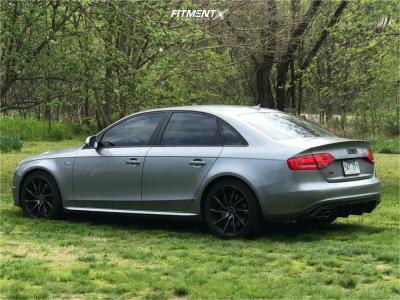 2011 Audi S4 - 19x9 43mm - Vossen Cvt - Lowering Springs - 235/35R19