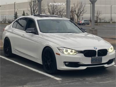 2015 BMW 328i xDrive - 19x8.5 35mm - Apex Ec-7 - Lowering Springs - 245/40R19