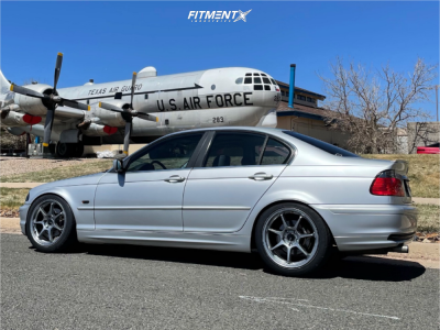 1999 BMW 328i - 18x8.5 38mm - Enkei Ts-7 - Coilovers - 235/45R18