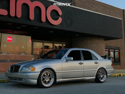 1999 Mercedes-Benz C43 AMG - 18x8.5 35mm - Aodhan Ds01 - Lowering Springs - 215/35R18