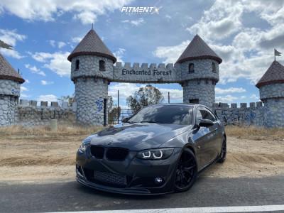 2007 BMW 335i - 18x8.5 38mm - Enkei Tsr-x - Lowering Springs - 225/40R18