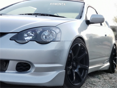 2003 Acura RSX - 18x9 25mm - Cosmis Racing Mr7 - Coilovers - 225/35R18