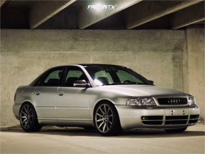 2001 Audi S4 - 18x9.5 45mm - VMR V702 - Coilovers - 235/40R18