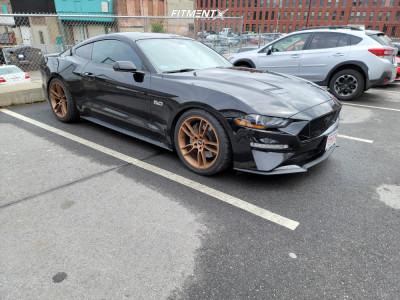 2019 Ford Mustang - 19x10 35mm - SVE GT7 - Lowering Springs - 285/35R19