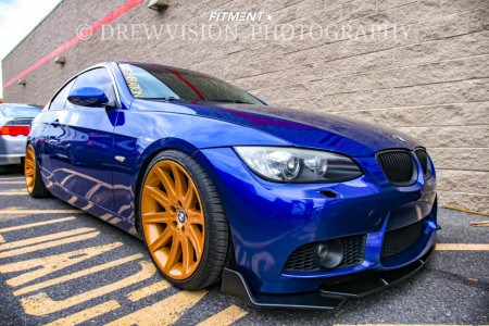 2007 BMW 328xi - 19x9 24mm - BMW Style 95 - Coilovers - 235/35R19