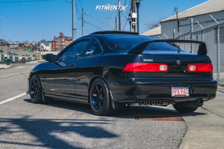 2001 Acura Integra - 15x8 35mm - Gram Lights 57dr - Coilovers - 205/50R15