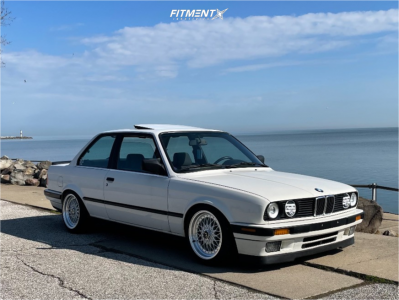 1989 BMW 325i - 16x8 25mm - JNC Jnc004 - Coilovers - 205/40R16