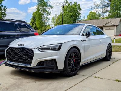 2018 Audi S5 - 19x9.5 25mm - Ground Force Gf9 - Stock Suspension - 265/35R19