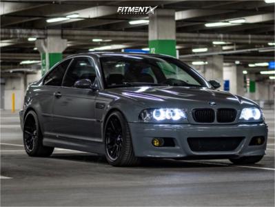 2003 BMW M3 - 18x9.5 22mm - Apex ARC-8 - Coilovers - 265/35R18