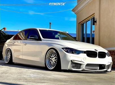 2015 BMW 328i - 19x9.5 35mm - ESR Sr05 - Coilovers - 215/35R19