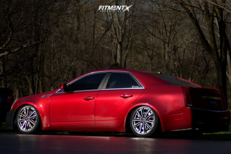 2008 Cadillac CTS - 19x8.5 50mm - Weds Kranze Acuerdo - Coilovers - 225/40R19