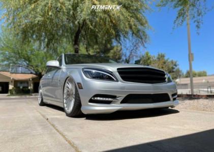 2008 Mercedes-Benz C300 - 19x8.5 42mm - 3SDM 0.04 - Air Suspension - 235/35R19