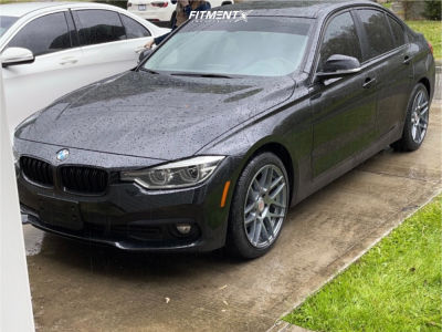 2018 BMW 320i xDrive - 18x8.5 35mm - Curva C300 - Stock Suspension - 225/45R18