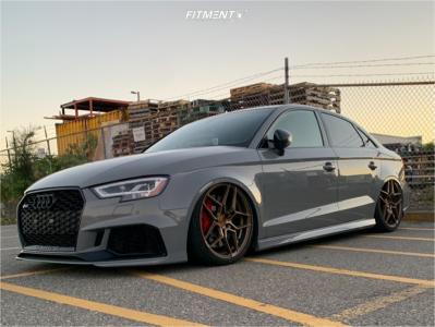 2018 Audi RS3 - 19x8.5 35mm - Rohana Rfx11 - Air Suspension - 235/35R19