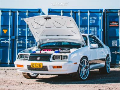 1990 Chrysler LeBaron - 19x8.5 35mm - Japan Racing Jr34 - Coilovers - 225/35R19