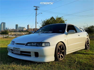 1997 Acura Integra - 15x8 35mm - Gram Lights 57dr - Coilovers - 205/50R15