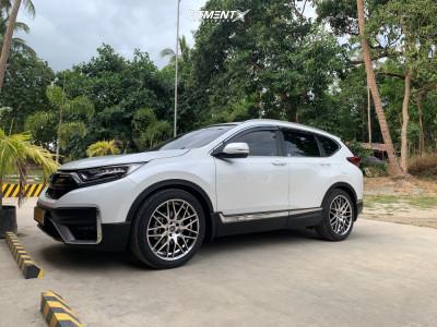 2021 Honda CR-V - 20x8.5 45mm - Work Ryver - Lowering Springs - 255/45R20