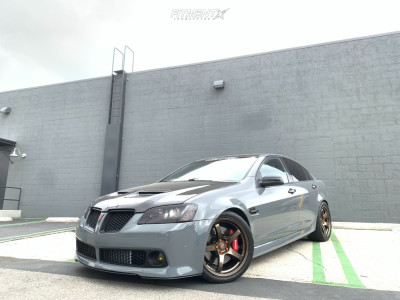 2009 Pontiac G8 - 19x9.5 35mm - Rays Engineering 57cr - Coilovers - 275/35R19