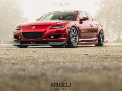 2006 Mazda RX-8 - 18x8.75 30mm - Japan Racing Jr11 - Coilovers - 225/35R18
