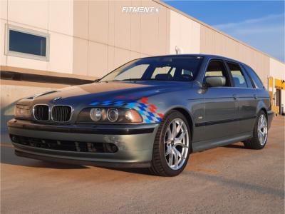 2001 BMW 525i - 18x8.5 30mm - ESR Rf2 - Stock Suspension - 245/40R18