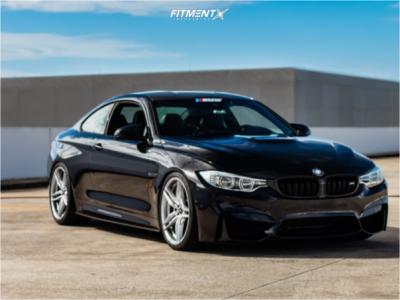 2015 BMW M4 - 20x9.5 22mm - Vorsteiner V-ff110 - Lowering Springs - 275/30R20