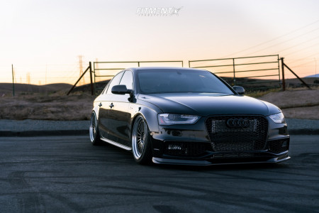 2015 Audi S4 - 19x10 35mm - BC FORGED MLE20 - Air Suspension - 255/35R19