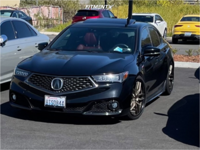 2018 Acura TLX - 20x9 35mm - Niche Methos - Coilovers - 245/35R20