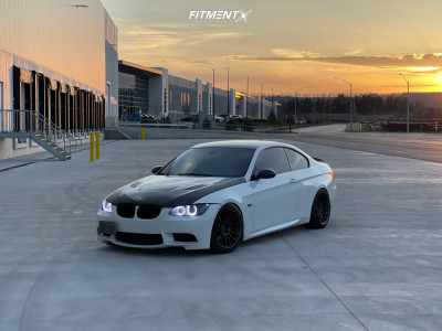 2009 BMW 335i - 18x9.5 22mm - Enkei Rs05-rr - Coilovers - 245/40R18