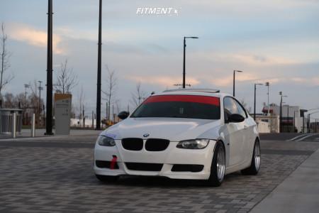 2008 BMW 3 Series - 18x9.5 22mm - ESR Sr05 - Coilovers - 255/40R18