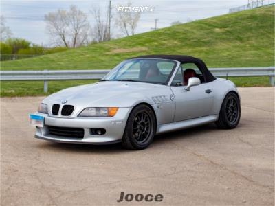 1997 BMW Z3 - 17x8 35mm - Konig Hypergram - Coilovers - 245/40R17