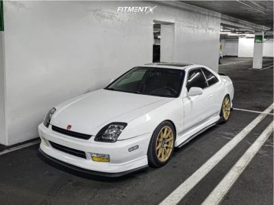 1997 Honda Prelude - 17x7.5 40mm - XXR 527 - Coilovers - 215/45R17