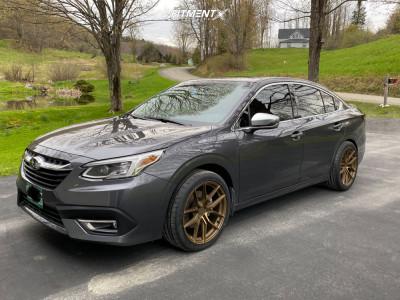 2021 Subaru Legacy - 19x8.5 20mm - XXR 559 - Stock Suspension - 245/40R19